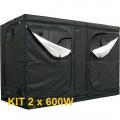 Kit Growbox 2 x 600W
