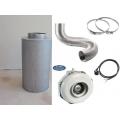 Set ventilacija-vonjave 800m3/h